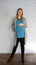 Front Seam Maternity Tee- 2 colors