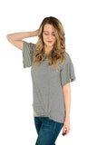 Tall Flutter & Twist Tee