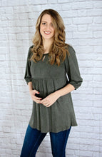 Boho Keyhole Top- 2 colors