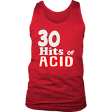 30 hits of ACID - Front Lettering ( tank )