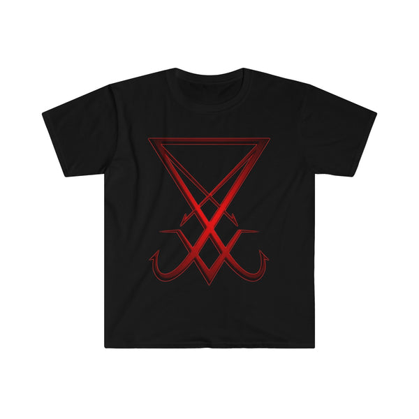 Lucifer- Men's Fitted Short Sleeve Tee