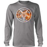 Baphomet Flame - Long Sleeve Shirt