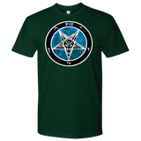 Blue Flame Baphomet - Dual Sided