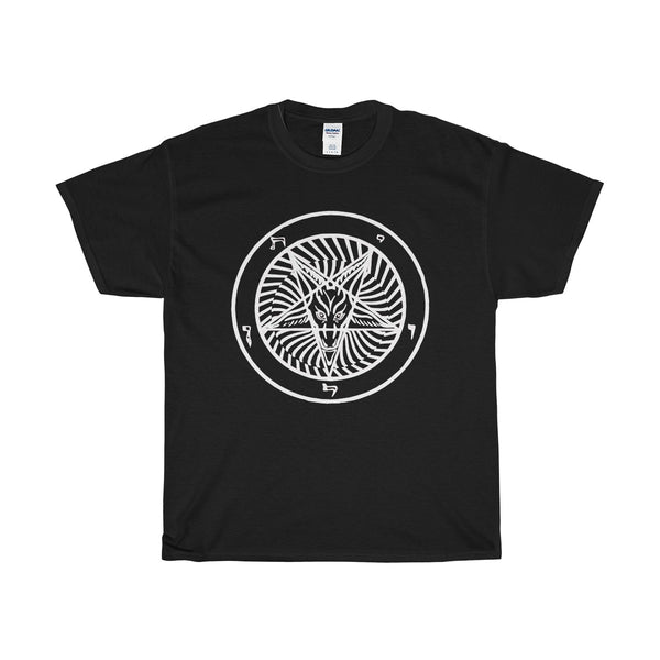 Baphomet Hypno=  Heavy Cotton Tee
