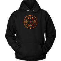 Demon Sigil - Amon ( Goetia Collection ) Quality Hoodie Pullover