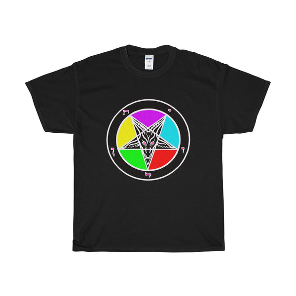 LGBT Baphomet - Heavy Cotton Tee