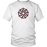 Black Sun - 9 spoke -T Shirt