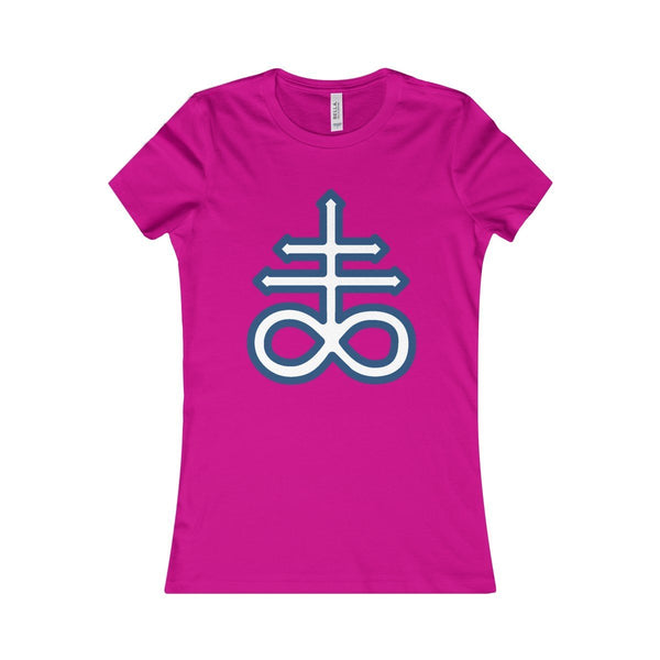 Satanic Cross- Women's Large Brimstone