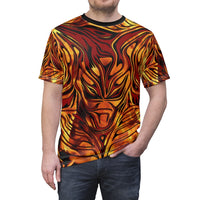 Baphomet Flame T-Shirt ( All Over Print )