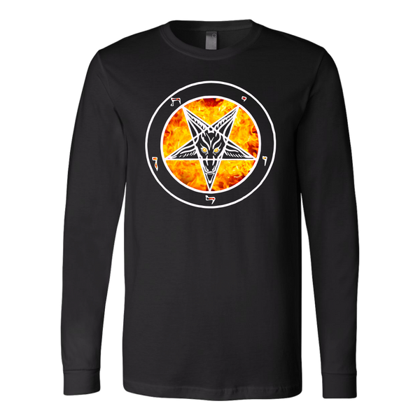 Baphomet OG Flame - Shirt Long Sleeve