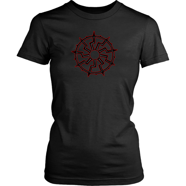 Black Sun - 9 spoke - Women shirt