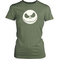 Halloween Jack Sketeton - Woman Shirt