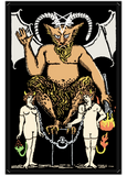 Devil Tarot Card - Long sleeve