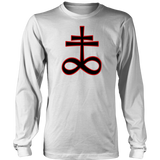 Brimstone Sigil - Long Sleeve -T-Shirt ( Traditional )