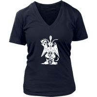 Baphomet - Women V-Neck