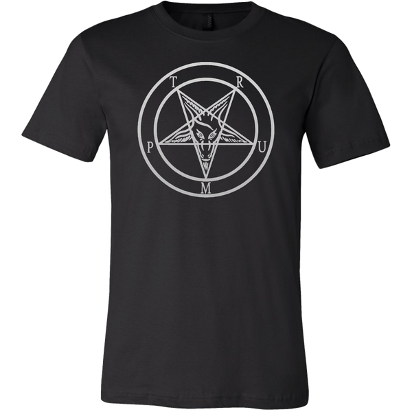 Trump Baphomet - Canvas Mens Shirt