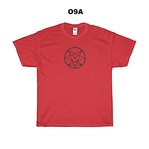 O9A/Sinister-Centered - Front - White , Red