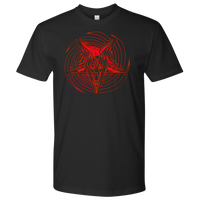 SIN Baphomet - 2020 Mens T-shirt ( red )