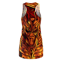 Bahomet Flames -  Racerback Dress