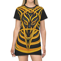 SIN Baphomet 2020- All Over Print T-Shirt Dress