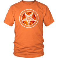 Flame OG Baphomet- Long sleeve and t-shirt