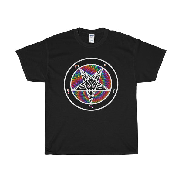 Baphomet Rainsnake -  Heavy Cotton Tee