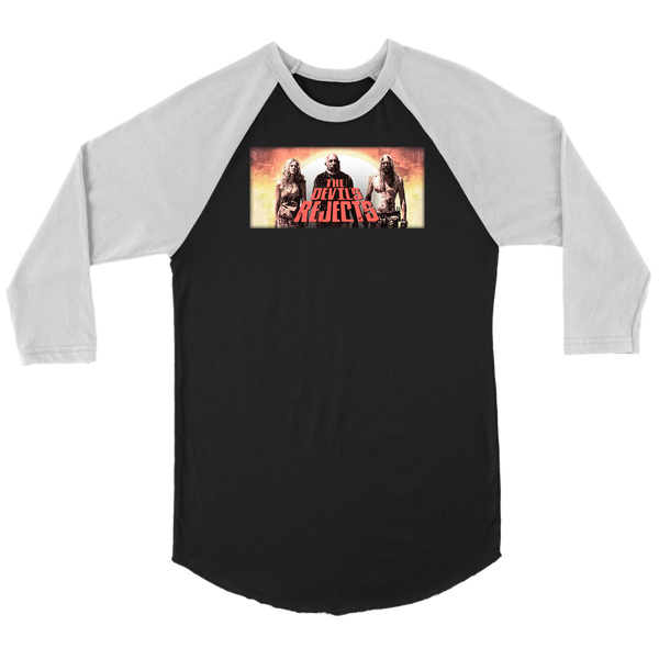 Devils Rejects - 70's vintage look shirt  3/4 sleeves