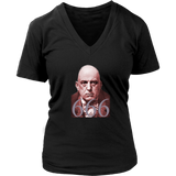 Crowley 666 - Woman T-Shirt V-Neck