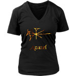 Demon Azazel - Goetia Collection - Women V- Neck