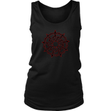Black Sun - 9 spoke - Tank top