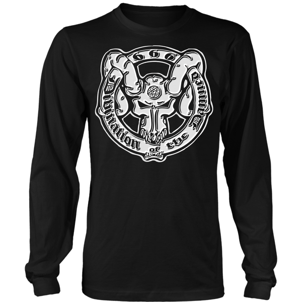 Divination of the Damned - Long Sleeve Jumbo Print