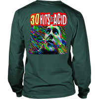 30 Hits of Acid -  Large Print Shirt long sleeve