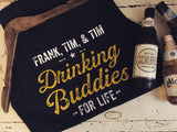 Set of 3 Drinking Buddies Sleeveless Shirt