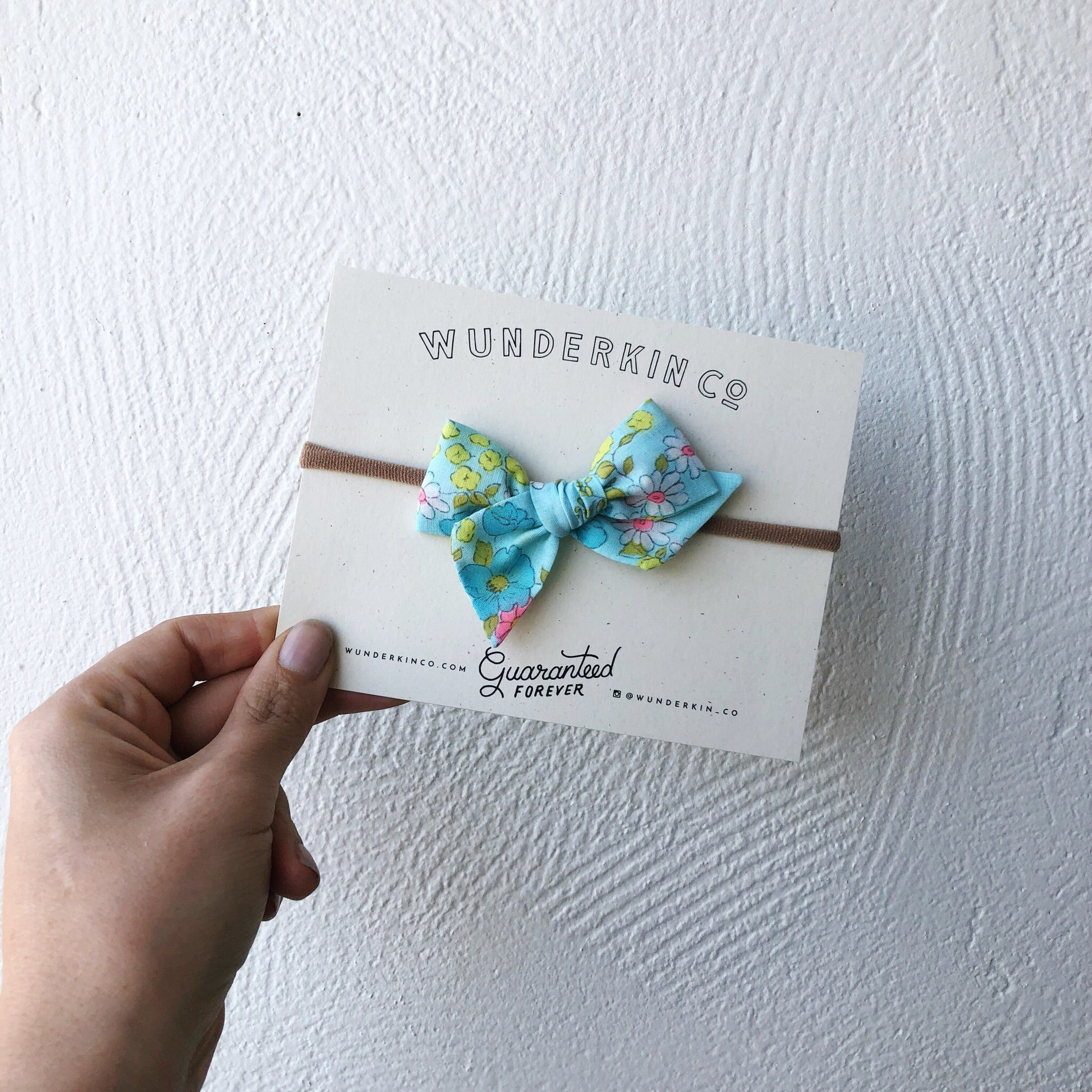 Aquamarine Floral Bow Collection