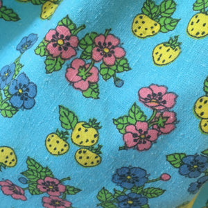 Blue Lemonade Strawberry Petal Pinny