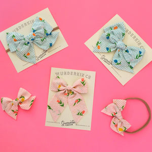 Tulip Triangle Bow Collection