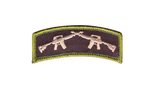 Rothco Crossed Rifles Patch - Stryker Airsoft
