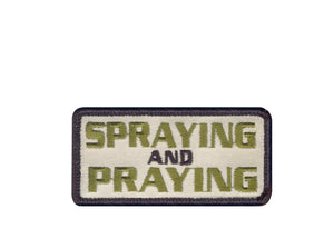 Rothco Spraying and Praying Patch - Stryker Airsoft