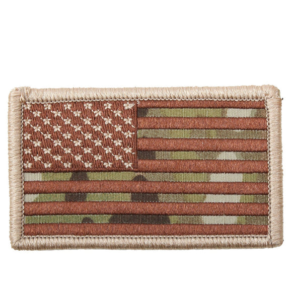 Rothco American Flag Patch - Regular (Multicam) - Stryker Airsoft