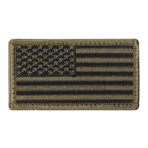 Rothco American Flag Patch - Regular (OD/Black) - Stryker Airsoft