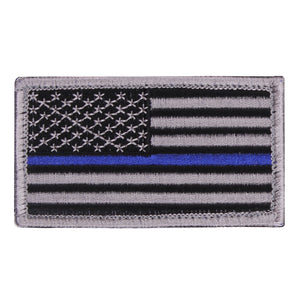 Rothco Thin Blue Line U.S. Flag Patch - Stryker Airsoft