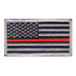 Rothco Thin Red Line U.S. Flag Patch - Stryker Airsoft