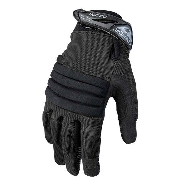 Condor Outdoor Stryker Padded Knuckle Gloves (Black) - Stryker Airsoft