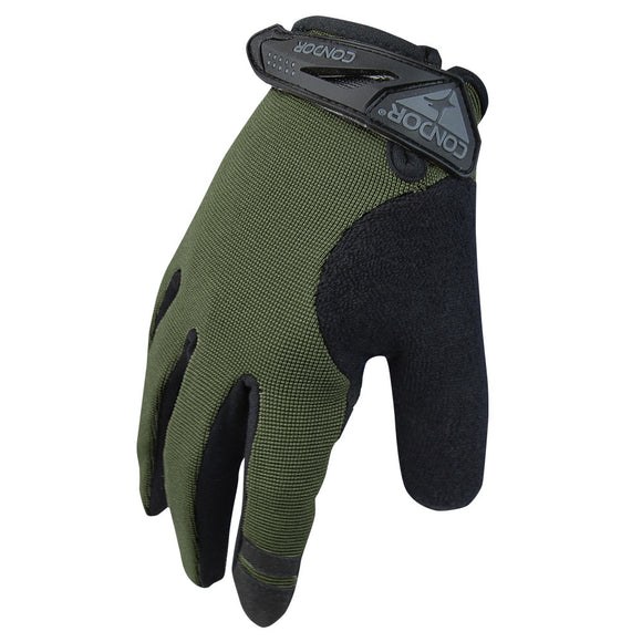 Condor Outdoor Shooter Gloves (Sage) - Stryker Airsoft