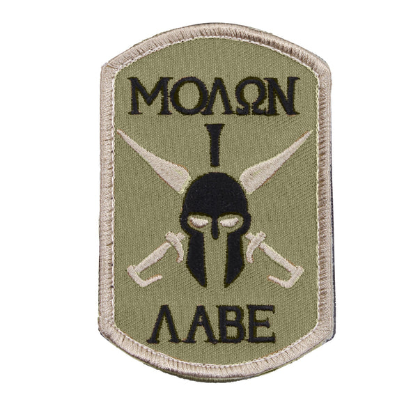Rothco Molon Labe Spartan Patch - Stryker Airsoft