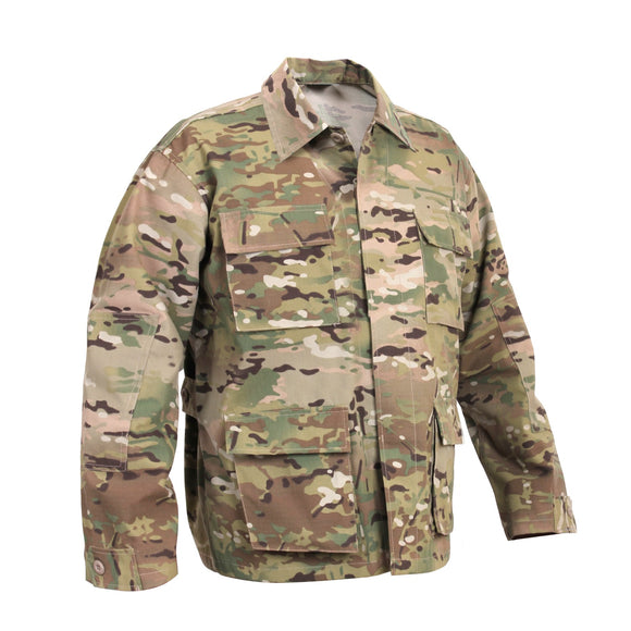 Rothco Camo BDU Shirt - Medium (Multicam) - Stryker Airsoft