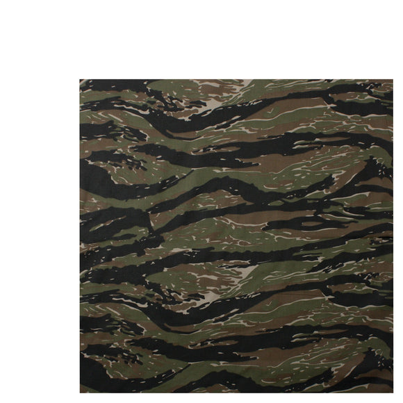 Rothco Classic Camo Bandana (Tiger Stripe) - Stryker Airsoft