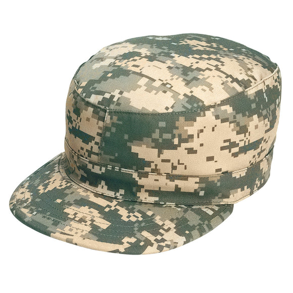 Rothco Camo Fatigue Cap - Small (ACU) - Stryker Airsoft