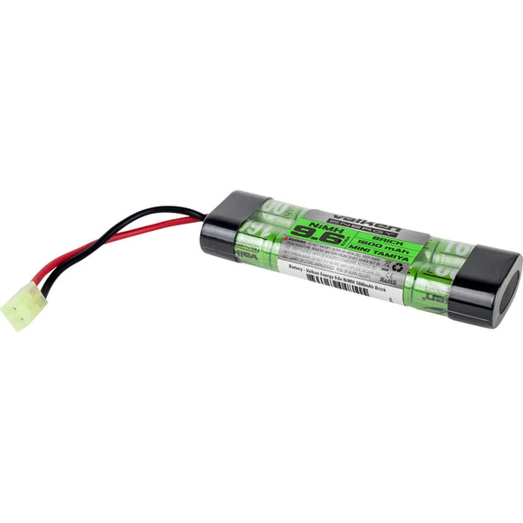 Valken Energy 9.6v 1600mAh NiMH Mini Brick Battery - Stryker Airsoft