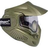 Valken MI-7 Dual Pane Thermal Lens Paintball Full Face Mask (Olive) - Stryker Airsoft